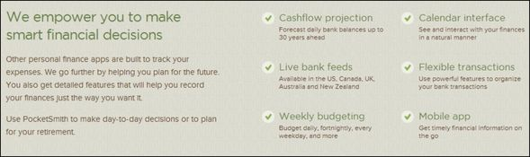 Get Your Finances In Order With 9 Financial Web Tools PocketSmith features