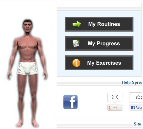 Exercise routines online free 2014