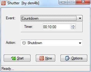 shutdown remotely