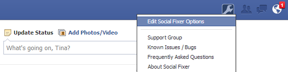 Clean Up Your Facebook News Feed With Social Fixer Filtering [Weekly Facebook Tips] Social Fixer Icon