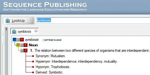 TheSage   TheSage's English Dictionary & Thesaurus: A Comprehensive English Dictionary & Thesaurus Freeware