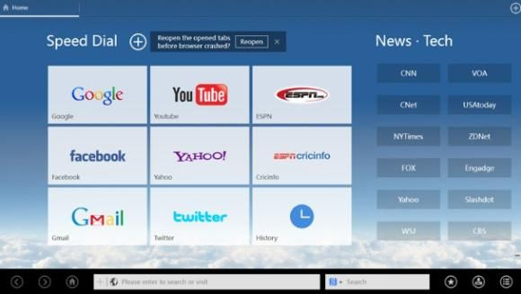 UC BrowserHD1   UC Browser HD: A Competent Web Browser For Windows 8 Computers