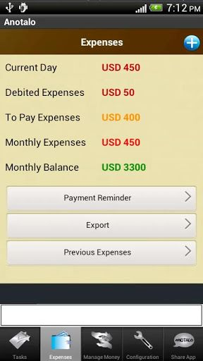 anotalo2   Anotalo: Organize Your Agenda & Manage Expenses [Android]