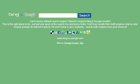 google and bing search engine