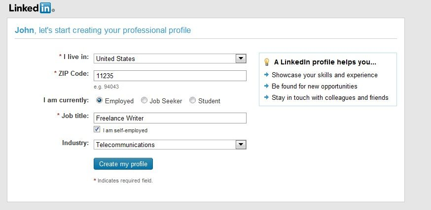 Linkedin Guide Build Your Living Resume