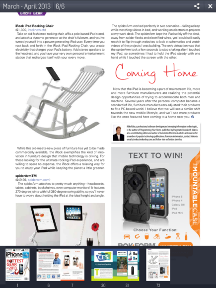 magzter for ipad