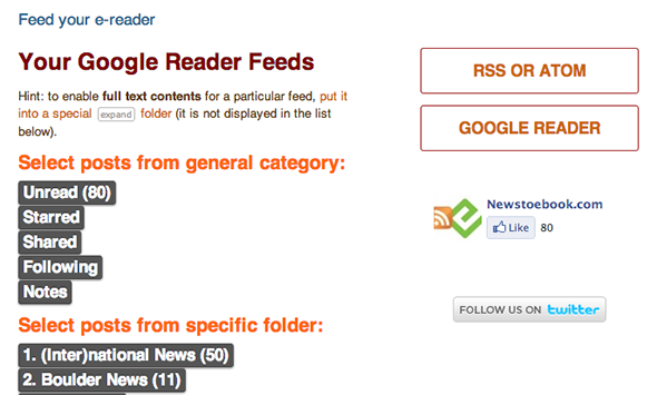 download google reader feed