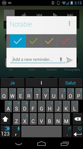 set up reminders android
