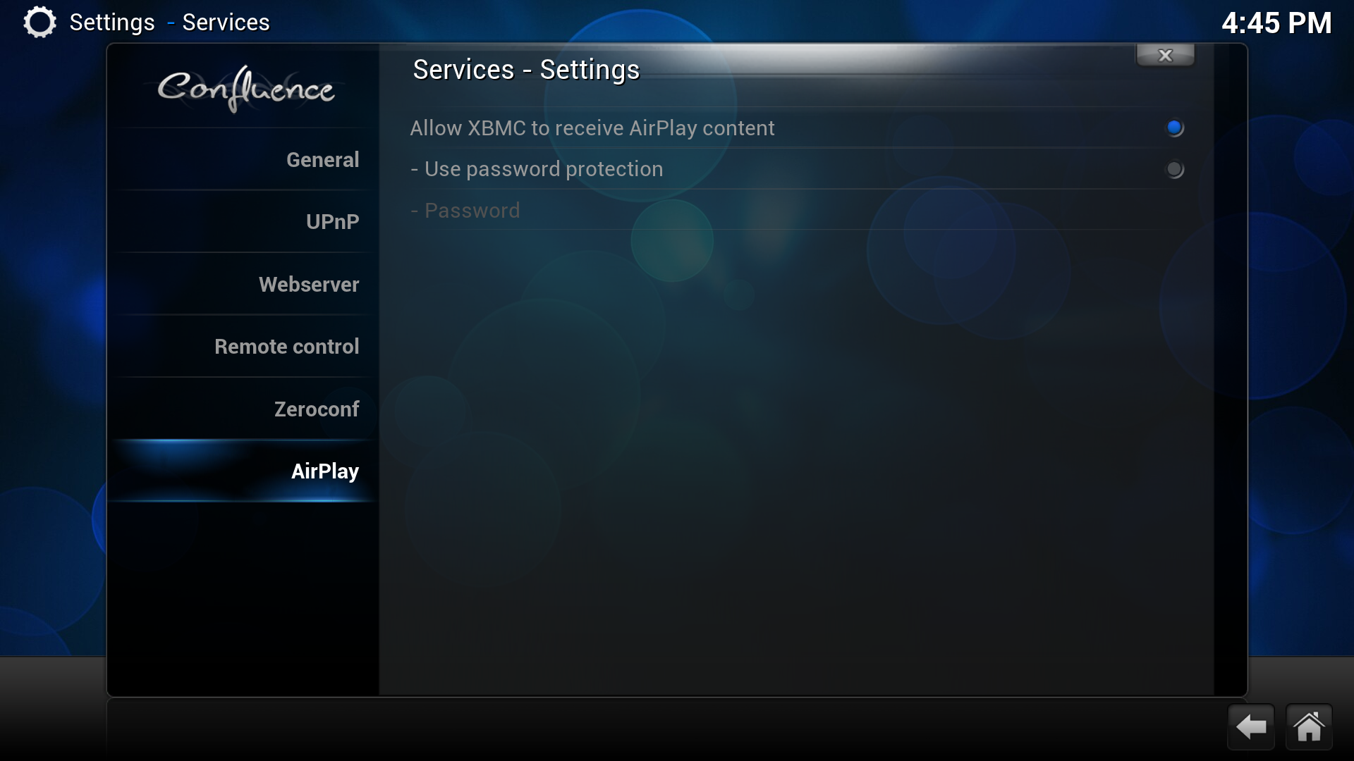 how to set up airplay on mac