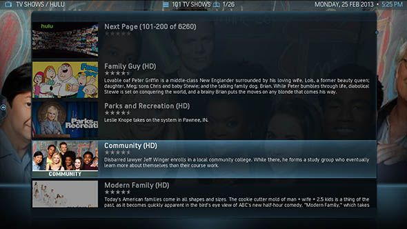 watch tv on xbmc