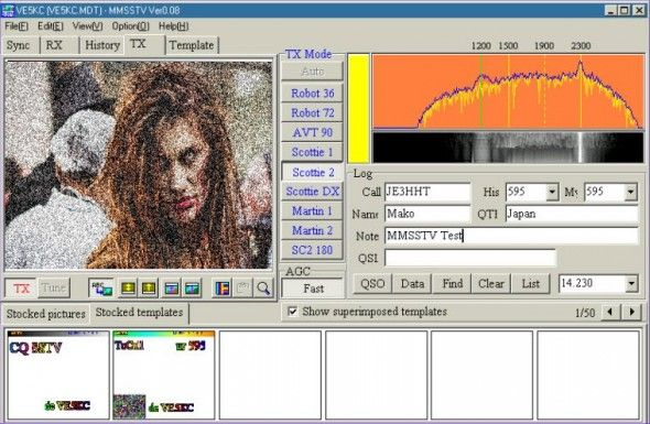Virtual HAM Radio - No License, No Gear, All Fun zombie sstv 590x385