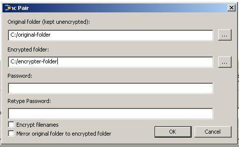 encrypt folders