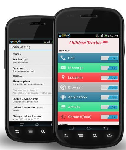 113   Safet Children Tracker: Monitor Your Childrens Activities (SMS,Calls,Browsing) Remotely 24/7 (Android)