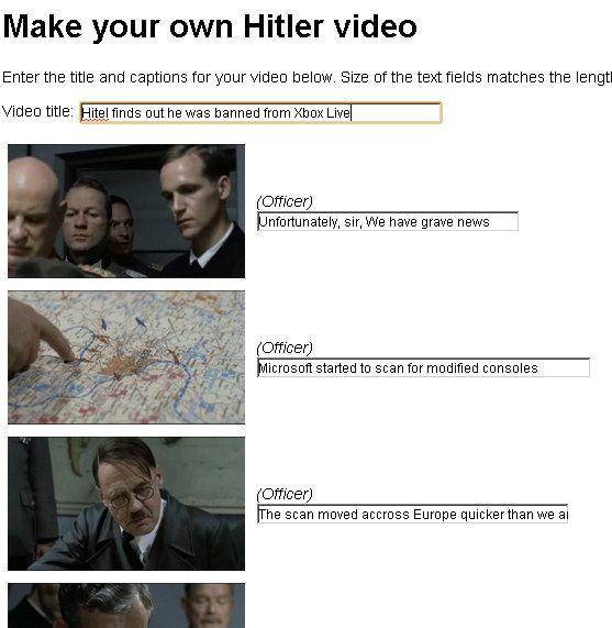make your own hitler video