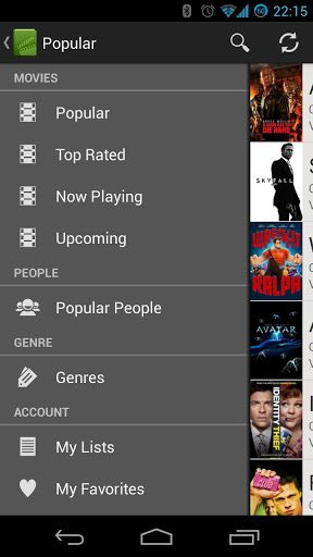 movie app android