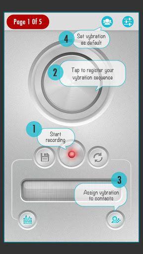 custom vibrations android