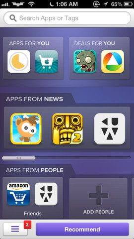 apps recommended