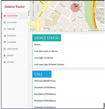 215   Safet Children Tracker: Monitor Your Childrens Activities (SMS,Calls,Browsing) Remotely 24/7 (Android)