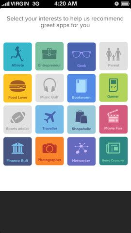 25   hubbl: Get Apps Recommended Based On Your Interests & Contextual Information [iOS]