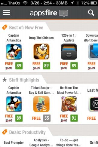 appsfire deals