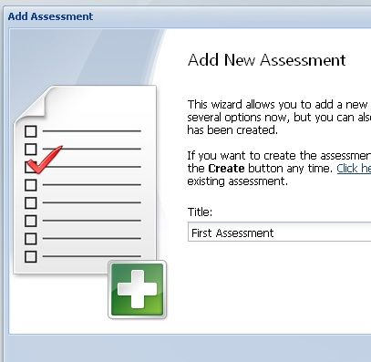 create assessments