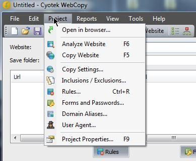 Cyotek WebCopy1   Cyotek WebCopy: Copy Entire Websites To Your Local Machine