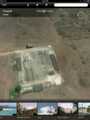 using ipad google earth
