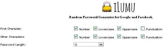 generate random passwords