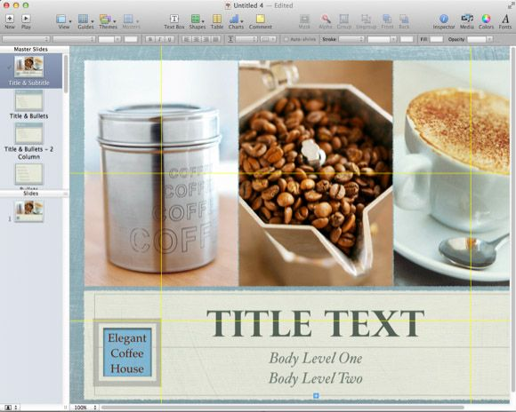 how to create an ebook using keynote