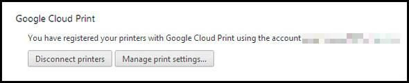 How To Become A Chrome Power User, Part 2: Bookmarks, Settings & Extensions Settings Cloud Print
