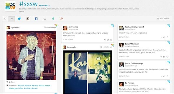 Search Hashtags Across Social Networks With Tagboard Tagboard1