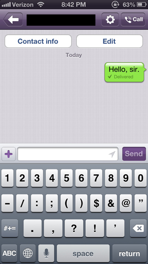 how to make video call on viber iphone