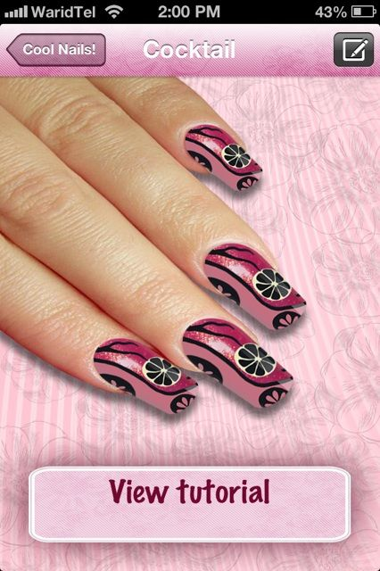 nail art iphone