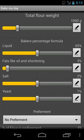 baking apps for android