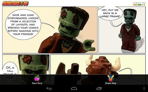 create comics on android