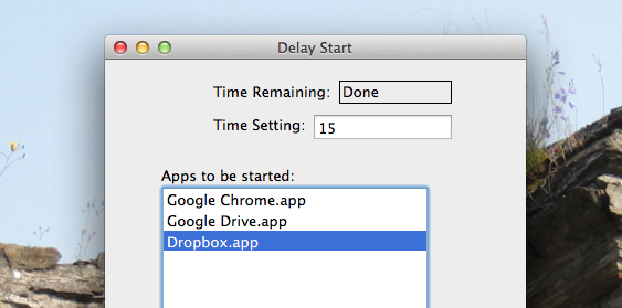 delay startup apps mac