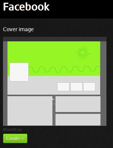 Social Media Image Maker: Create Profile & Cover Images For Various Social Networks facebook