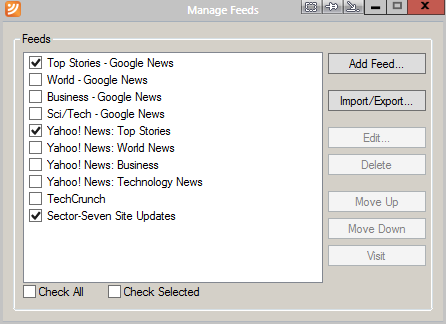 how to read rss feeds