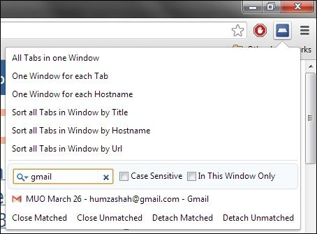 gmail   TabJuggler: Easily Manage Open Tabs In Google Chrome
