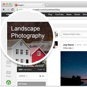 Learn Photography: Connect With Top Photographers On Google+ Communities