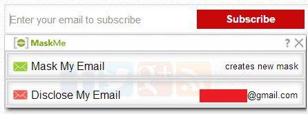 mask email address