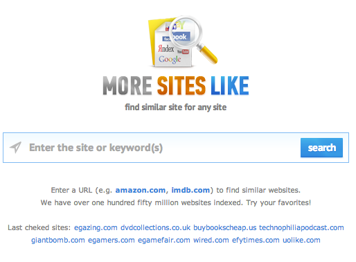 find websites similar to other websites