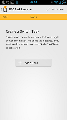 android launch task