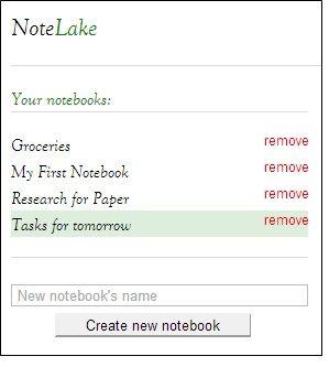 note taking web app