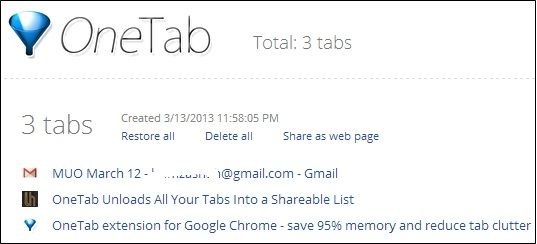 share open tabs