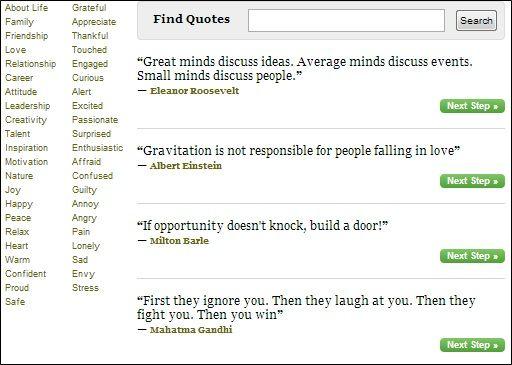 create picture quotes