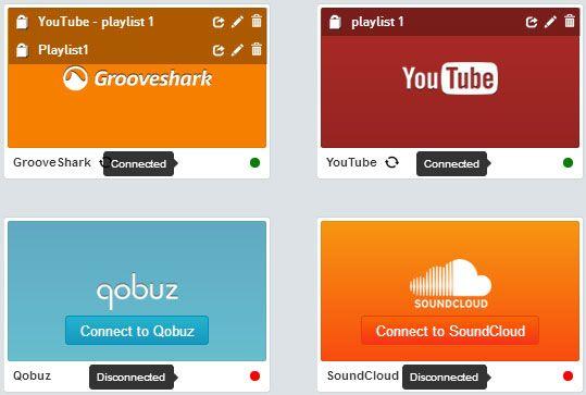 manage playlists