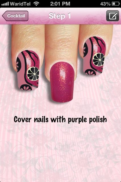 cool nails for iphone