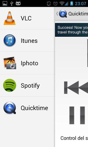control os x from android