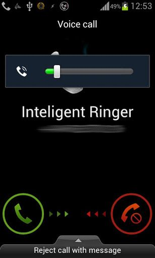 android control ring volume